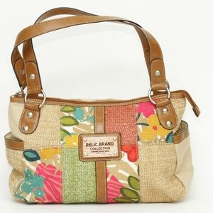 Relic Brand Collection Floral Patchwork Purse